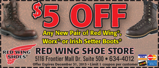 Redwingshoes coupon
